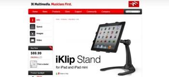 IK Multimedia iKlip Stand review