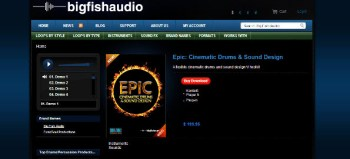 Big Fish Audio – Epic: Cinematic Drums and Sound Design