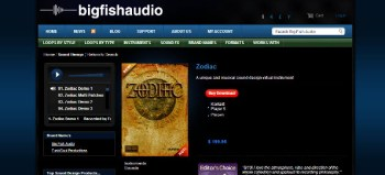 Big Fish Audio Zodiac review