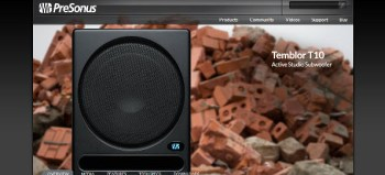 Presonus Temblor T10 Active Studio Subwoofer review