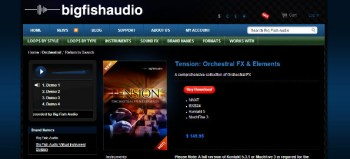 Big Fish Audio Tension: Orchestral FX and Elements reivew