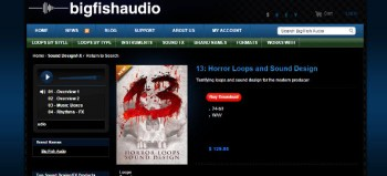 Big Fish Audio 13: Horror Loops and Sound Design Library Review