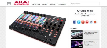 Review: Akai APC40 MKII Ableton Live Performance Controller