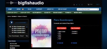 Review: Big Fish Audio Piano Soundscapes