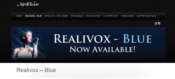Review: Realitone Realivox Blue Solo Female Vocal Library