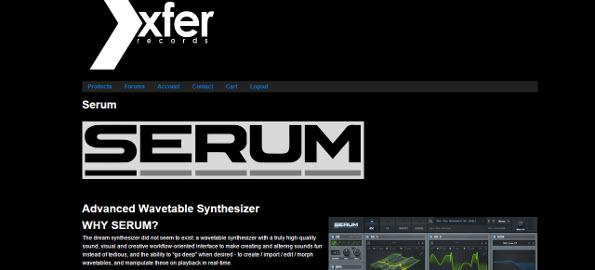 Serum xfer wavetable synth free   Review: Xfer SERUM VST