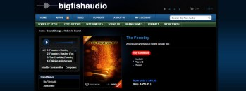 Big Fish Friday: Review of The Foundry a Sound Design Tool by Sonicsmiths