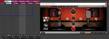 IK Multimedia T-RackS Mic Room Live Percussion Recording Test