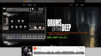 Product Demo: Auddict Drums of the Deep