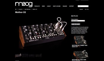 Going Modular: Moog Mother 32 Semi-Modular Synthesizer