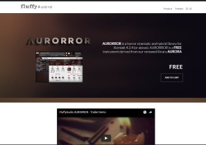 Friday Freebie: Fluffy Audio AURORROR Hybrid Cinematic Horror Instrument