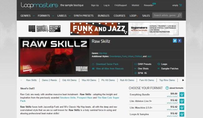 Product Demo: Raw Cutz – Raw Skillz Everything Bundle – Jazzy Hip Hop Kits
