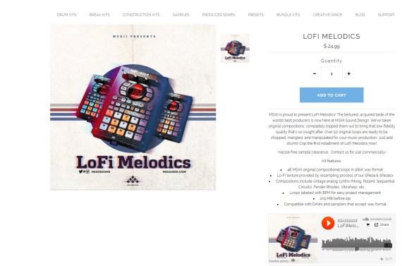 Review: MSX Audio LoFi Melodics Sample Pack