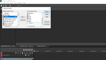 Video Tools: Vegas Pro 15 Custom Toolbars + Win Vegas Pro Suite