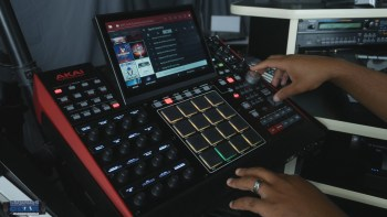 Akai Pro Dark Parallax MPC Expansion Demo
