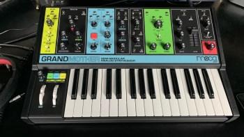 Moog Grandmother – Sound Test & My First Impression