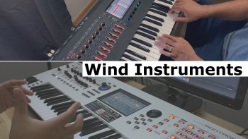 Roland Fantom vs. Yamaha Montage – Woodwind Sound Comparison