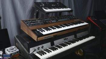 2 Tier Synth Stand for the Rhodes MK1
