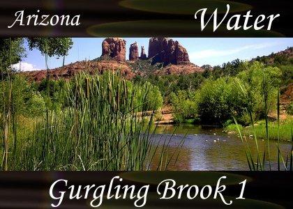 SoundScenes - Atmo-AZ - Gurgling Brook 1