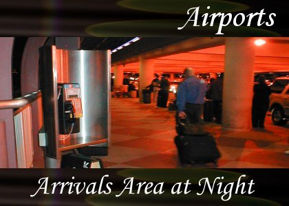 SoundScenes - Atmo-Airport - Arrivals Crowd at Night