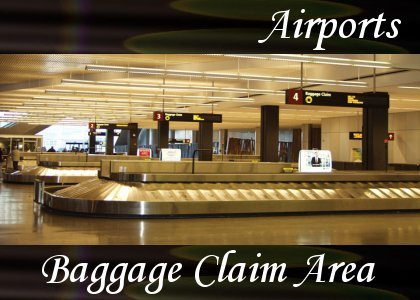 SoundScenes - Atmo-Airport - Baggage Claim Area