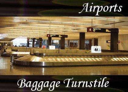 Baggage Claim Turnstile