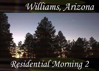 SoundScenes - Atmo-Arizona - Williams, Residential Morning 2