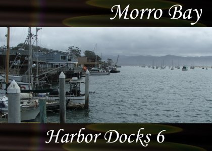 SoundScenes - Atmo-California - Morro Bay, Harbor Docks 6