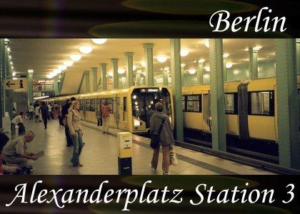 SoundScenes - Atmo-Germany - Berlin, Alexanderplatz Station 3