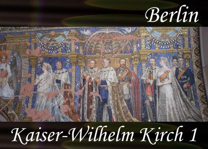 SoundScenes - Atmo-Germany - Berlin, Kaiser-Wilhelm Kirch 1
