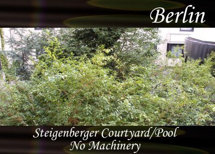 SoundScenes - Atmo-Germany - Berlin, Steigenberger, Courtyard and Pool, No Machinery