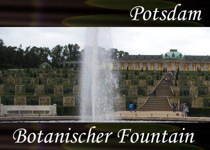SoundScenes - Atmo-Germany - Potsdam, Botanischer Garten Fountain