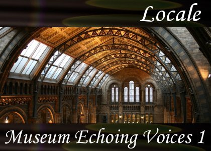 SoundScenes - Atmo-Locale - Museum, Echoing Voices 1