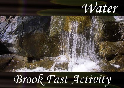 SoundScenes - Atmo-Water - Brook Fast Activity