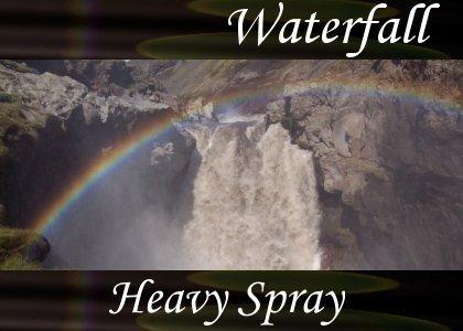 SoundScenes - Atmo-Waterfall - Heavy Spray