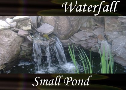 SoundScenes - Atmo-Waterfall - Small Pond