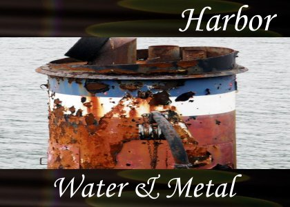 SoundScenes - SL Atmo-Harbor - Water and Metal
