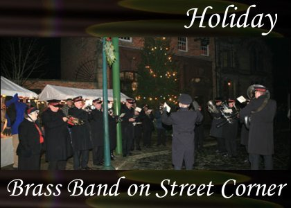 Brass Band on Street Corner 0:50
