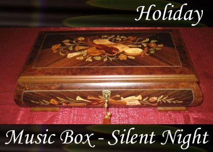 Music Box, Silent Night 0:50