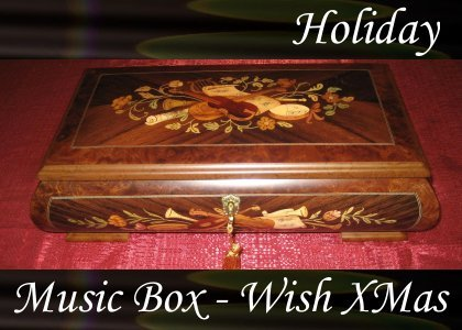 Music Box, We Wish You a Merry Christmas 1:00