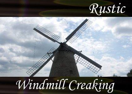 SoundScenes - Atmo-Rustic - Windmill Creaking
