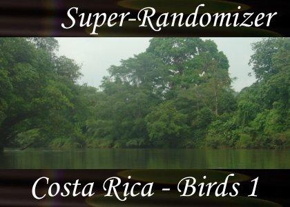 Costa Rica – Birds Set #1 (40 Sounds)
