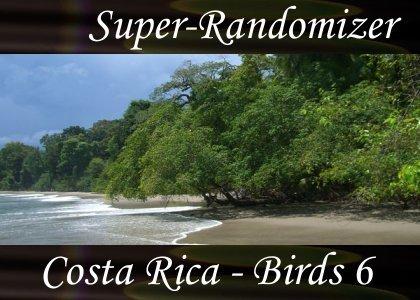 Costa Rica – Birds Set #6 (40 Sounds)