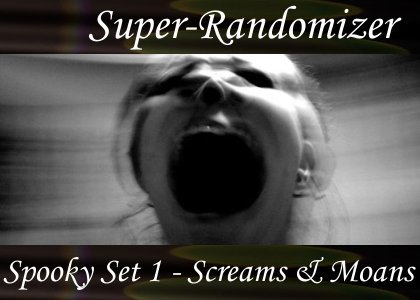 Spooky Set 01 – Screams and Moans (70 Sounds)