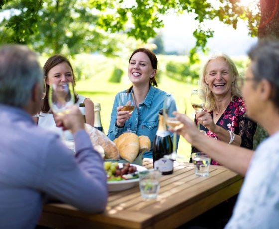 People on Wine Tour