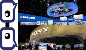 Sony Samsung CES