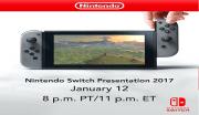 Nintendo Switch Presentation Live Stream