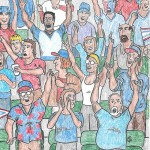 30. Cartoon Crowd