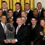 obama w yankees 2009 at white house