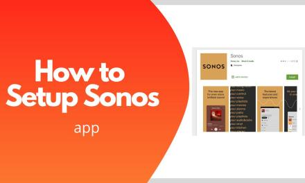 How to Setup Sonos Controller App